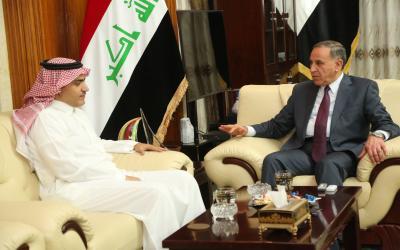 السفير السعودي يهنئ العراق لانتصاراته على الارهابيين