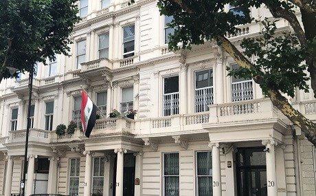 احراج دبلوماسي ما قامت به البعثة العراقية في بريطانيا و على بغداد الاعتذار
