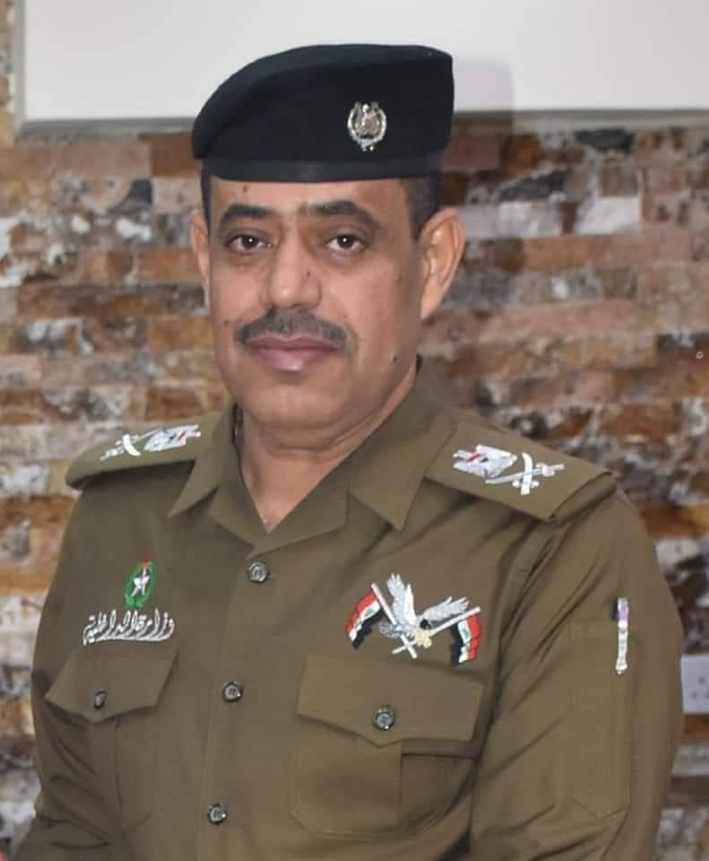 قائد شرطة المثنى يوجه رسالة أطمئنان إلى أبناء المحافظة