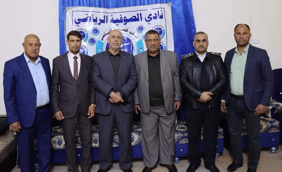 ادارة  الصوفية ترفض استقالة رئيسها  الاستاذ محمد عواد حسين