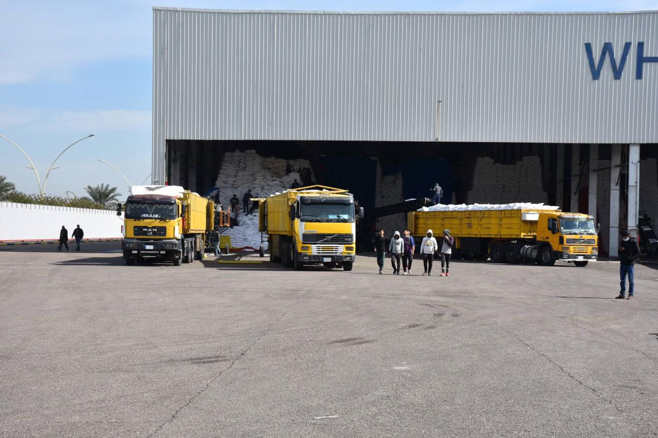 التجارة … استمرار مواقع شركة المواد الغذائية  في بغداد والمحافظات تجهيز مادة السكر وتوزيعها على المواطنين