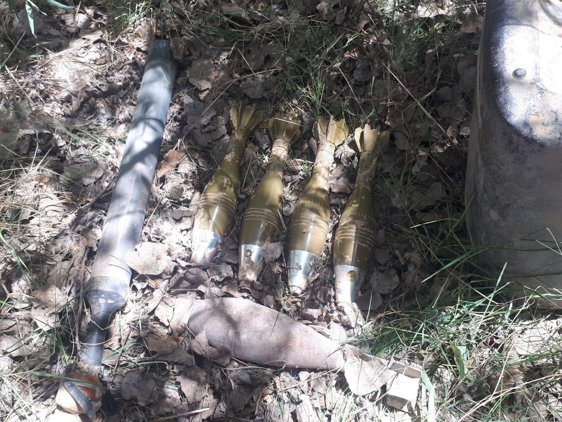 خبراء مكافحة المتفجرات في كركوك وديالى يعالجون مخلفات حربية للمجاميع الإرهابية