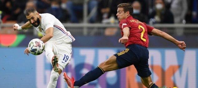 الديك الفرنسي بطلًا لدوري الأمم بعد مخادعة الإسبان بثنائية!