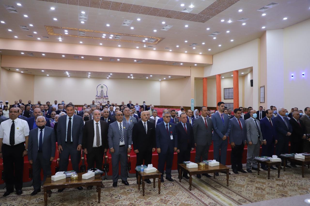 في رحاب جامعة الانبار  . . انطلاق فعاليات المؤتمر العلمي الثاني لجيولوجيا الصحراء العراقية
